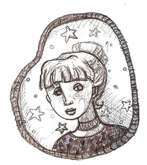 StarGirl Sketch