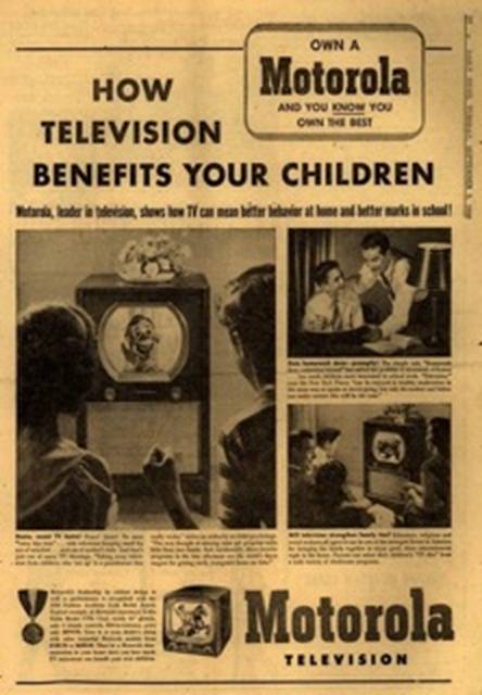 old tv advertisement